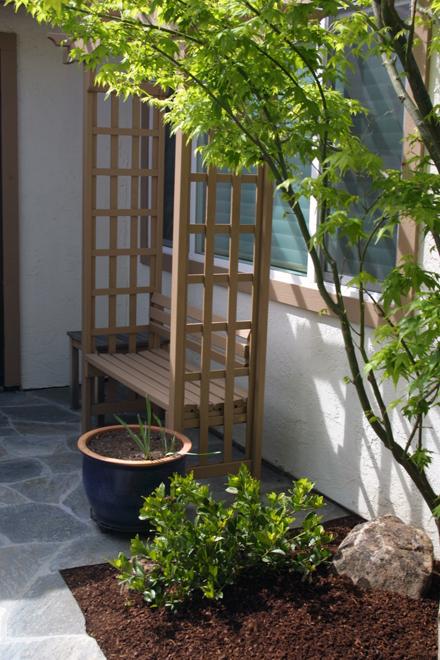 Sustainable Low Water Garden Design in San Jose